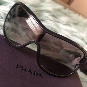Prada Milano Black Sunglasses